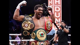 WOW !!! ANTHONY JOSHUA GIVEA A SURPRISING REACTION AFTER BEING ORDERED TO FIGHT USYK