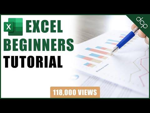 Microsoft Excel Beginners Tutorial