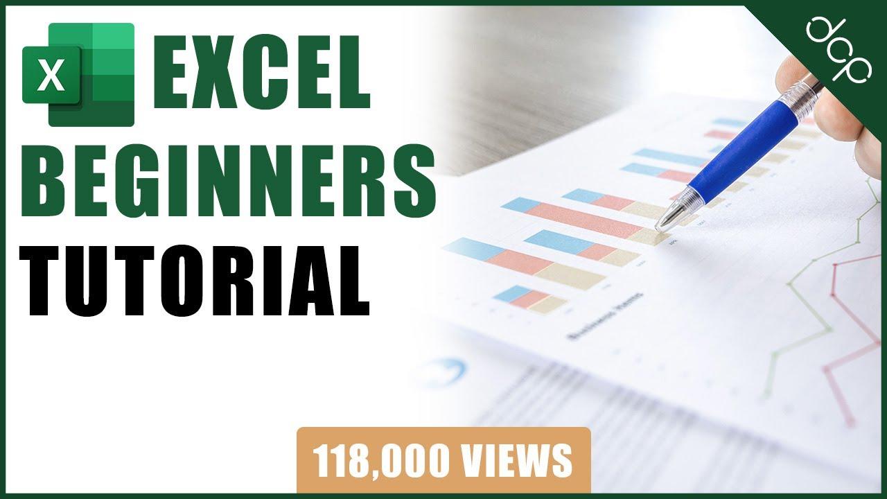 Excel Help Beginners