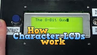 How a Character LCD works Part 1 thumbnail
