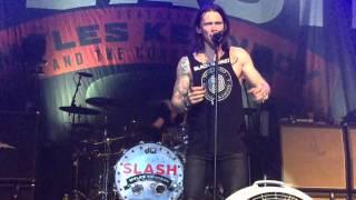 Slash ft Myles Kennedy & the Conspirators @ Sound Academy-Too Far Gone 9/23/15