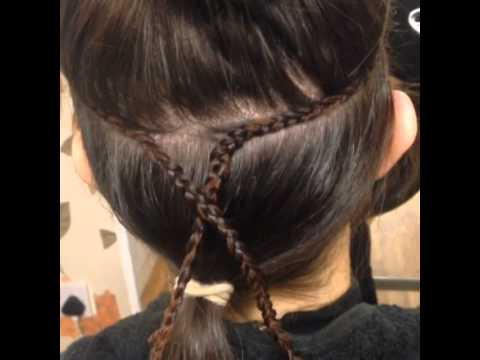 track styles for hair 4 track weave extensions to give length and volume 3021