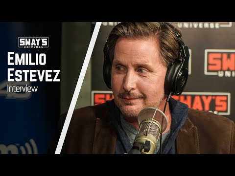 "Emilio Estevez Shares Stories of Growing Up Poor & New Film ""The Public"" 