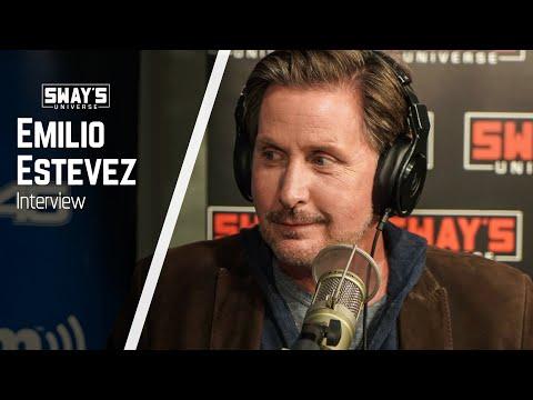 "Emilio Estevez Shares Stories Of Growing Up Poor & New Film ""The Public""   Sway's Universe"