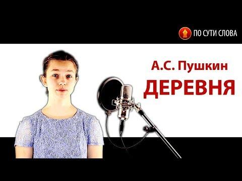 «Деревня». А.С. Пушкин. По сути слова