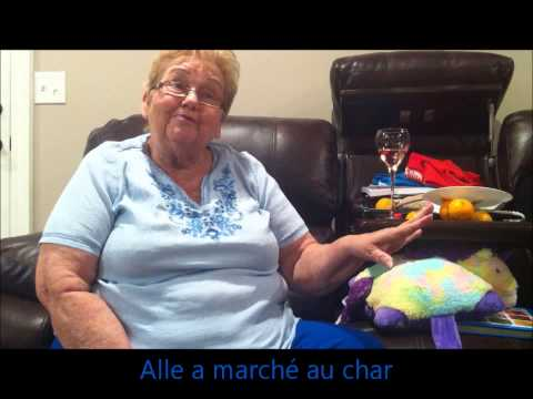 Madame Grettle speaks Cajun French