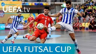UEFA Futsal Cup third-place play-off highlights: Benfica v Pescara