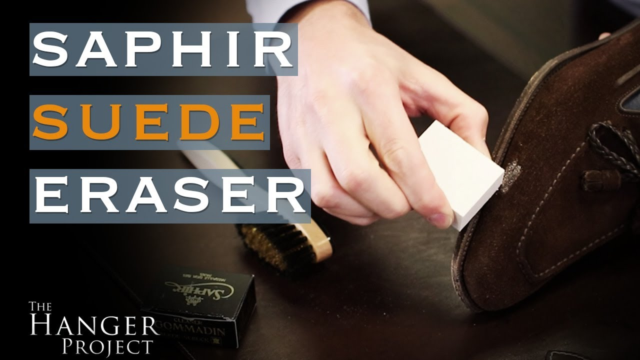 How To Remove Stains From Suede Shoes Saphir Eraser