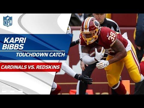 Kapri Bibbs Takes the Screen Pass to the House vs. San Fran   Cardinals vs. Redskins   NFL Wk 15