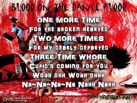 Happy Valentines Day  Blood On The Dance Floor Lyrics