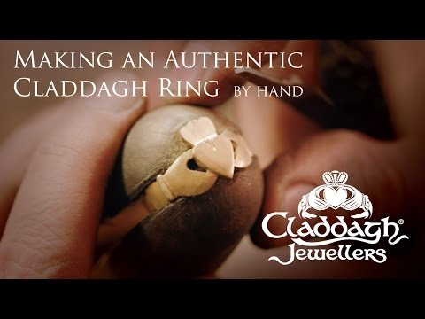 Making a Solid Gold Claddagh Ring (by hand!) at Claddagh Jewellers