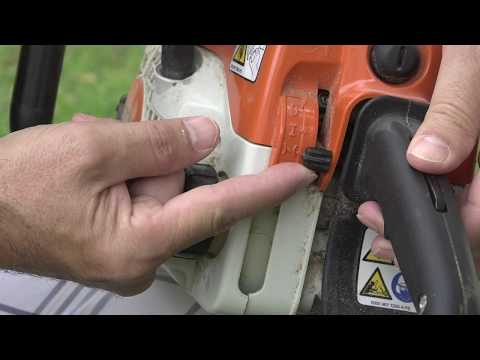 Starting A Stihl Chainsaw The Correct Way.  NEVER Flood It Again!