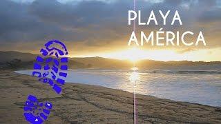 Caminando por Playa América - Nigrán (Pontevedra)
