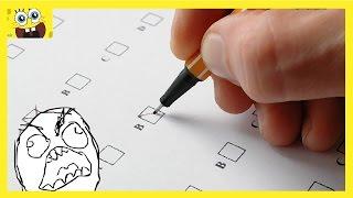 TEST d'intelligence #1 avec 5 questions faciles que vous ne reussirez pas du premier coup !!!