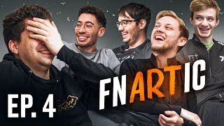 FNATIC reacts to their ART   FNARTIC Ep4 The BIG REVEAL!