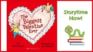 The Biggest Valentine Ever - By Steven Kroll | Kids Books Read Aloud