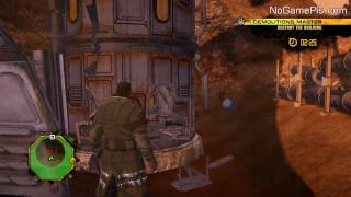 Red Faction: Guerrilla Walkthrough Sidequest 02 Destroy the Building Using