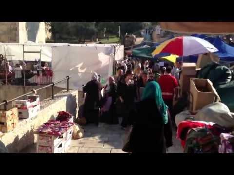سوق باب العامود Damascus Gate market
