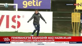 Fenerbahçe'de Başakşehir Maçı Hazırlıkları! Emre Belözoğlu'ndan Futbolculara Öze