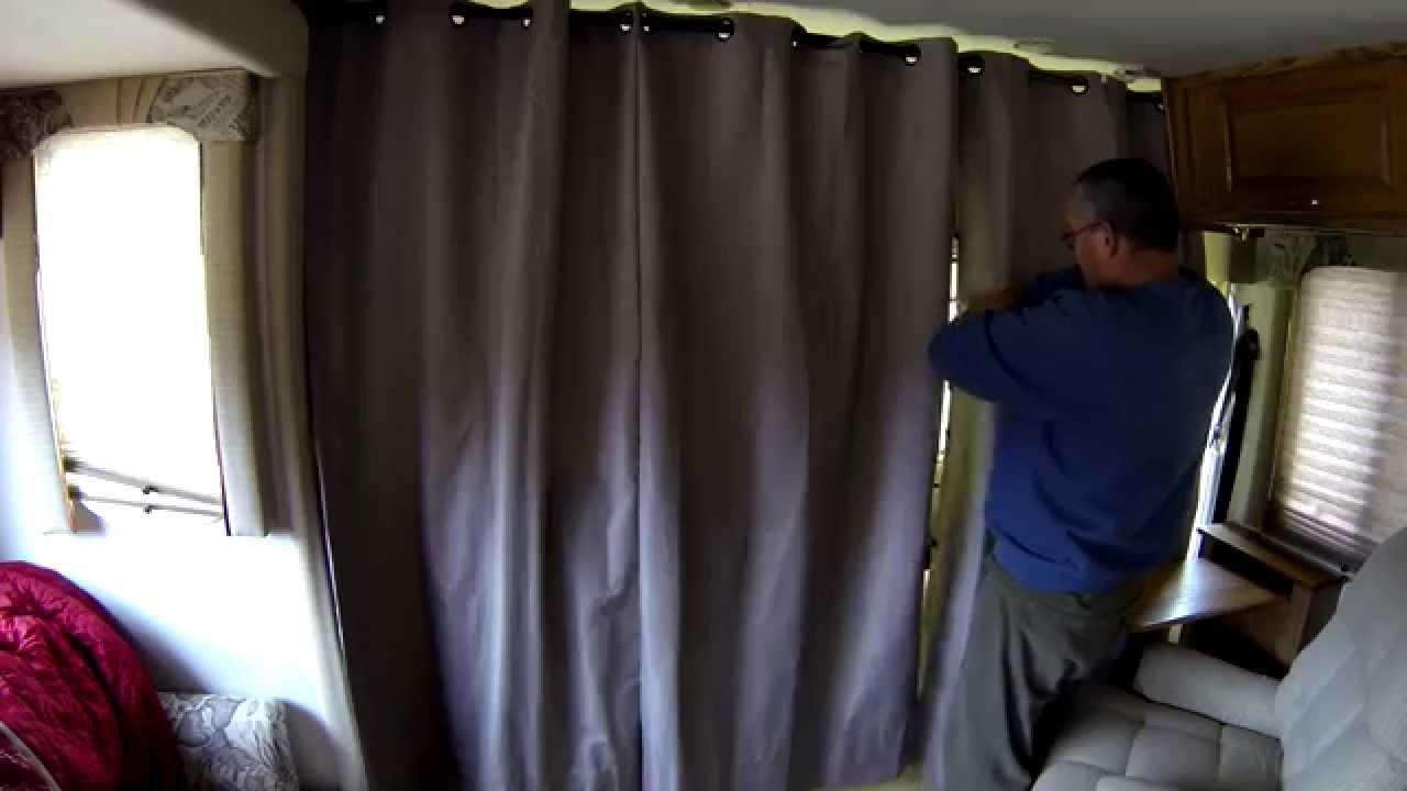 Rv curtains motorhome class a - Rv Temperature Control Curtains