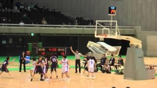 2016 女子決勝 埼玉vs長崎 2q2 ジュニアオールスター 中学バスケ