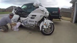How to wash a Goldwing