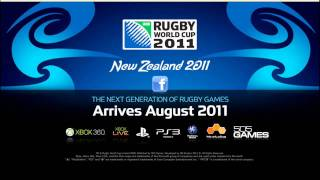 *Official Rugby World Cup Game 2011 Confirmation Announcement