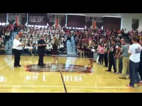 Padua Franciscan High School Homecoming Rally 2014