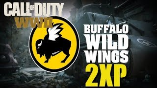 How to Get 2XP for WWII - Buffalo Wild Wings Promotional Offer for Call of Duty: WWII