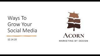 Ways To Grow Your Social Media / iNautilus Convoy 2020
