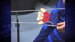 International Toys in Space: Climbing Bear