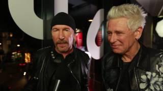 StubHub Q Awards 2016 Interviews: Double winners U2! Video