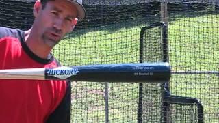 Hitting with a wood bat