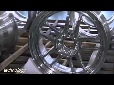 Engineering technology from Japan: CNC Machine | Wheel Machi