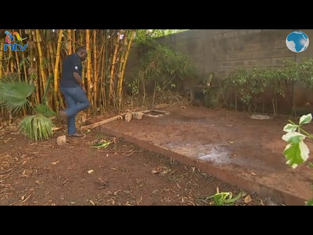 The crime scene - where Cohen's body was discovered