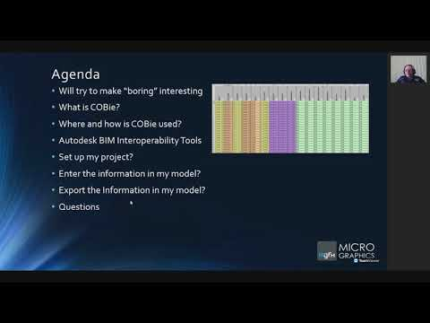 Revit 2021 BIM Interoperability Tools - What Is COBie And How Is It Managed