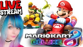 🔴 PLAY WITH ME! - Mario Kart 8 Deluxe 💗 LIVE STREAM