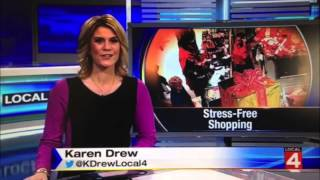 Annie sez: Stress-Free Holiday Shopping @ Orchard Mall (WDIV4 News Report) Thumbnail