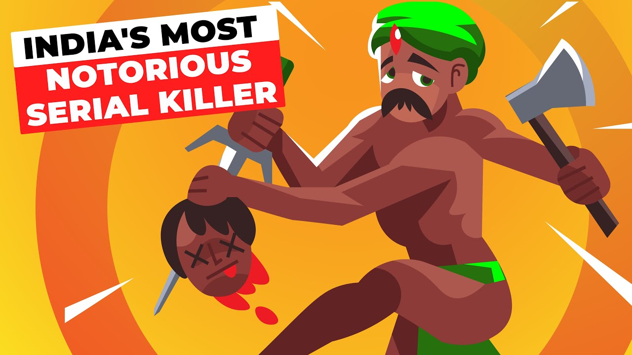 India's Most Notorious Serial Killer | Murder Infographics