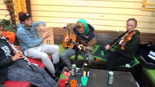 Some music in Camping Zeeburg Amsterdam