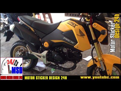 Honda msx 2015 yellow new 125 honda msx