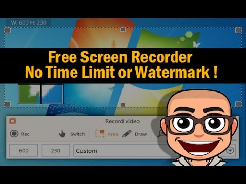 Free Screen Recorder With No Time Limit and Watermarek