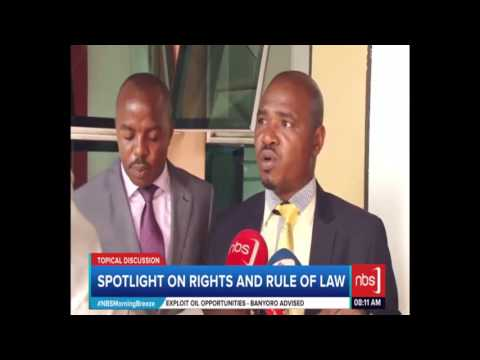 Spotlight on Rights and Rule of Law (Francis Gimara, Pres Ug
