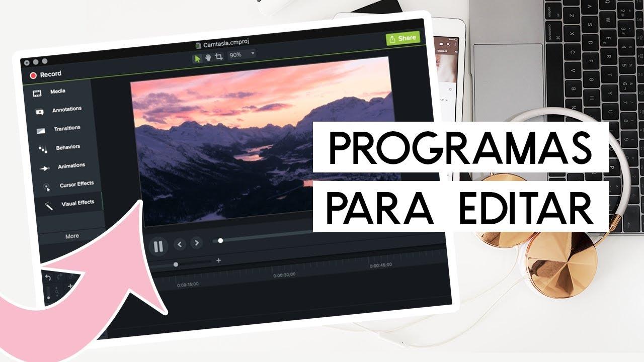 Los Mejores Programas Para Editar Videos De Youtube 2020 Youtube