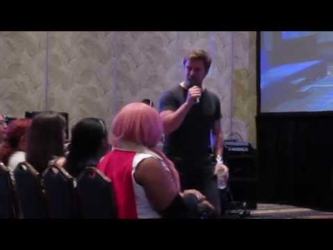 Vic Mignogna sings some Journey