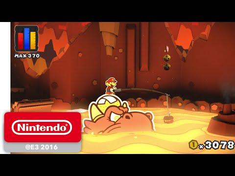 Paper Mario: Color Splash - Official Game Trailer - Nintendo E3 2016