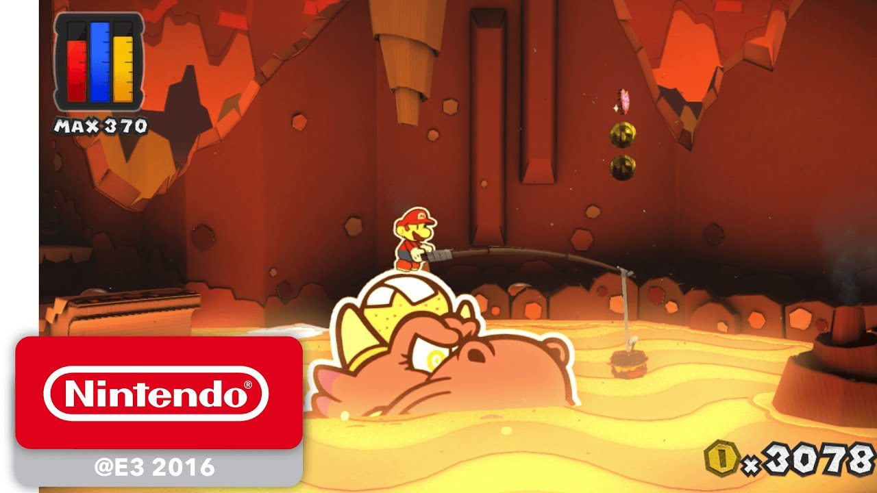 Paper Mario: Color Splash - Official Game Trailer - Nintendo E3 ...