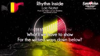"Loïc Nottet - ""Rhythm Inside"" (Belgium) - [Instrumental version]"