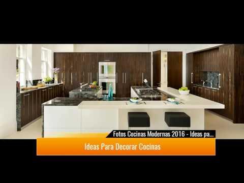 Fotos Cocinas Modernas 2017 ♥Preciosas ideas♥