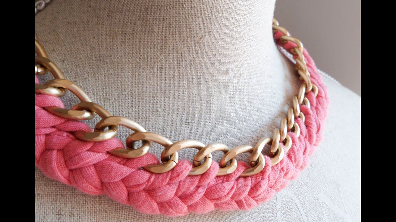 Collar De Trapillo  Tutorial